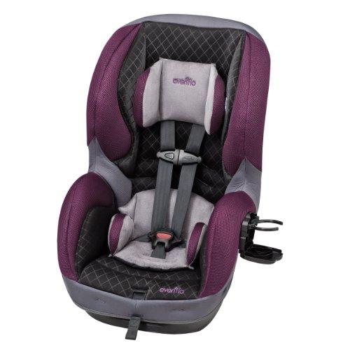 Evenflo SureRide DLX Convertible Car Seat, Sugar Plum