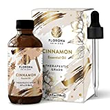 Cinnamon Essential Oil 4Oz Large Bottle with Gift Box - (100% Pure & Natural - UNDILUTED) Therapeutic Grade - Perfect for Aromatherapy, Relaxation, Skin Therapy & More!
