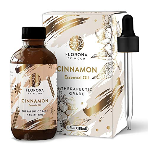 Florona Organic Essential Oil, 4 Oz Organic (Cinnamon, 4 Oz)