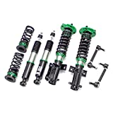 Rev9 R9-HS2-078_1 Hyper-Street II Coilover Suspension Lowering Kit, Mono-Tube Shock w/ 32 Click Rebound Setting, Full Length Adjustable, compatible with Ford Mustang 2005-10