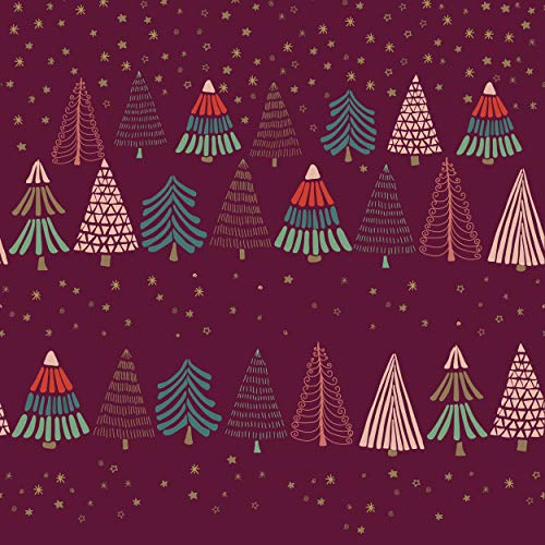 20 Lunch Servietten Weihnachtsbäume 33cm