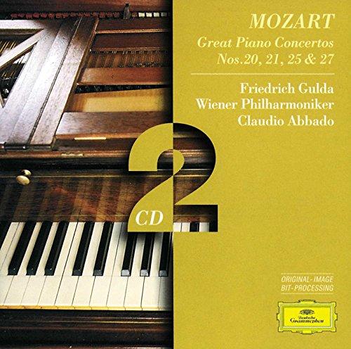 Mozart: Klavierkonzerte 20, 21, 25, 27