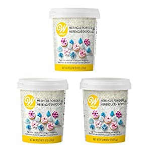 Great for making meringues, royal icing and anything else that calls for egg whites Color: White Net Weight: 8 ounce. (227 gram) each Certified Kosher; made in a facility that also processes peanuts, tree nuts, fish, shellfish, milk and wheat product...