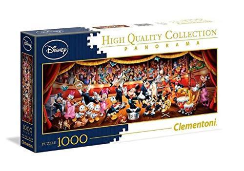 ディズニー オーケストラ ミッキー パノラマ ジグソーパズル 1000ピース 39445 Disney orchestra puzzle [並行輸入品]