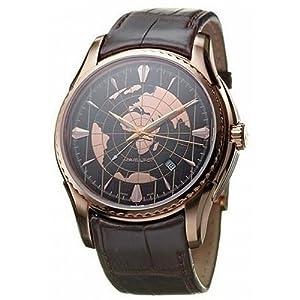 Hamilton Men's H34645591 Aquariva GMT Brown Stainless Steel Watch image