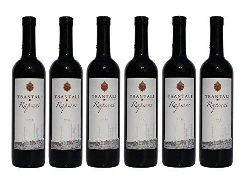 6x Rapsani Olympos Rot Rotwein je 750ml 13% Tsantali trocken roter Wein Griechenland trocken + 2 Probier Sachets Olivenöl aus Kreta a 10 ml