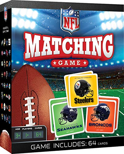 MasterPieces NFL NFL Full League Version Matching Game For Ages 3