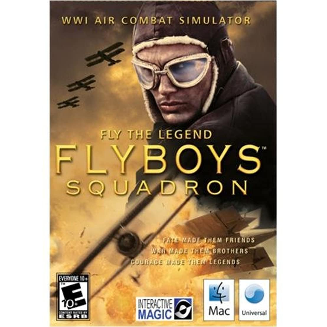冊子重なるアートFlyboys Squadron Mac (輸入版)