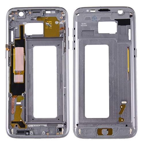 Guanlong Accesorios para teléfonos móviles Samsung pantalla de Vivienda reemplazo de la reparación de piezas LCD marco frontal de la carcasa del bisel Placa for Galaxy S7 Edge / G935 (gris)
