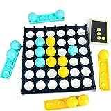 Bouncing Ball Game Set,Interaktives Werfen Party Toy,Bouncy Ball Game Set,Winner Board,Bouncing Brettspiel,Table Desktop Game,Brettspiel Schnell,Brettspiele Für Kinder