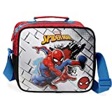 Marvel Spiderman Red Neceser con Bandolera, Rojo
