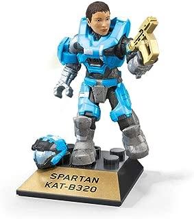 Mega Construx Halo Heroes Pro Builders Series 10 Spartan KAT-B320 Figure GFT38