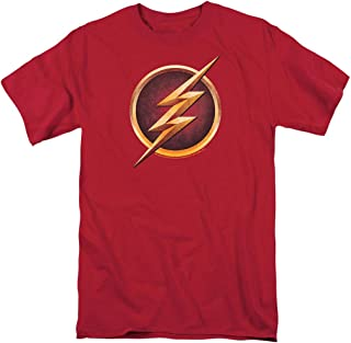 The Flash TV Series Logo Red T Shirt & Stickers