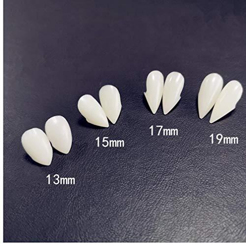 Favori Denti del Vampiro Zanne Protesi Puntelli del Costume di Halloween del Partito della Mascherina Puntelli Decorazioni di Festa di DIY Adulto Orrore per i Bambini 15 Millimetri