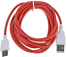 2M 6.5FT USB Power Charging Data Cable For Fuhu NABI 2S Android Kids Tablet R2D2 Edition SNB02-NV7A