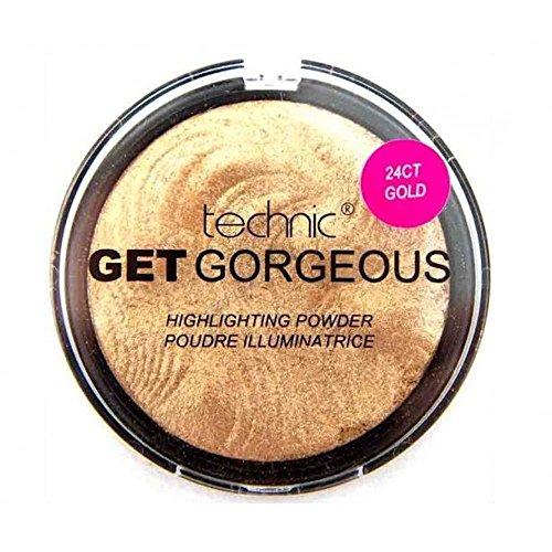 Technic Get Gorgeous Highlighting Powder, 6 g