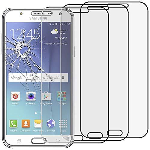 ebestStar - kompatibel mit Samsung Galaxy J5 Panzerglas x3 SM-J500F (2015) Schutzfolie Glas, Schutzglas Displayschutz, Displayschutzfolie 9H gehärtes Glas [Phone: 142.1 x 71.8 x 7.9mm, 5.0'']