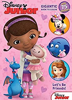 Bendon Disney Junior: Let's Be Friends Coloring and Activity Book, 224 Pages (10283)