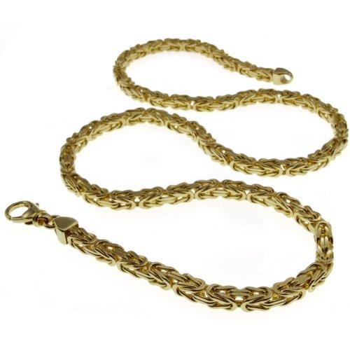 3mm Königskette 50cm - 585 Gold Gelbgold