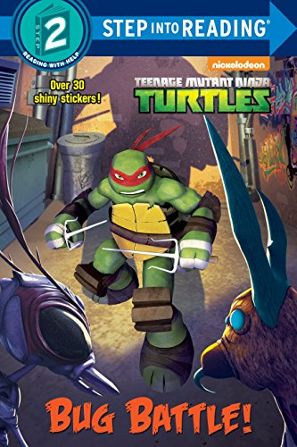 ninja turtle book level 1 - 5
