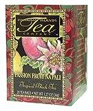 Hawaiian Islands Passion Fruit Na Pali Tropical Black Tea, All Natural - 20 Teabags