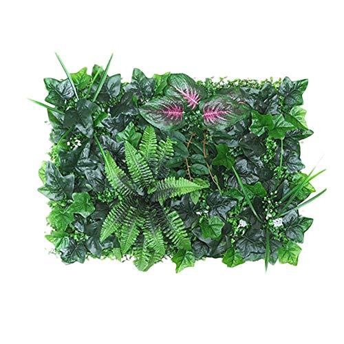 Draulic 40 60CM Kunstpflanzen-Hecken-Panel UV-geschützter Sichtschutz für Gartengarten im Freien