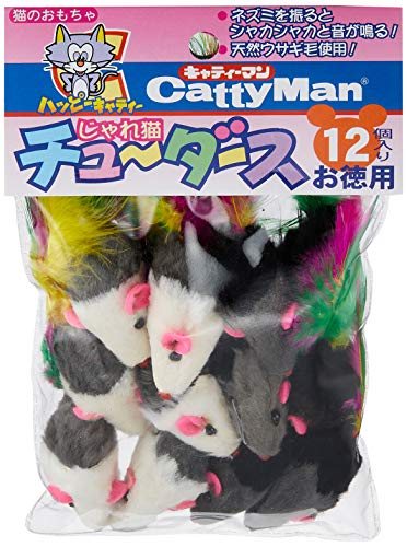 キャティーマン(CattyMan)じゃれ猫チューダース12個入