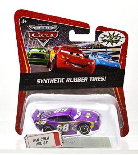 Mattel Disney Pixar Cars Pneu en Caoutchouc N2O Cola No. 6 anime8 Disney Mini Voiture