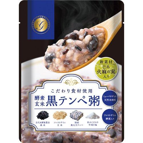 グローリー インターナショナル 酵素玄米黒テンペ粥 250g×12袋
