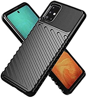 MOKO Samsung Galaxy A71 Case High Protection Black