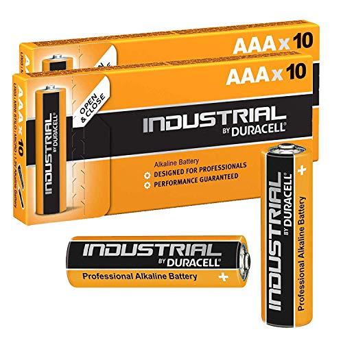 Duracell Procell Industrial AAA MN2400 - Confezione da 20 batterie alcaline LR04