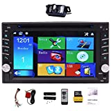 "Best Car Stereo Dvd Gps - Upgarde Version with Camera ! 6.2"" Double 2 Review"