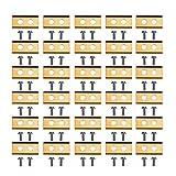 Solinder 30 Piezas De Cuchillas De Corte + 60 Piezas De Tornillos,30 Piezas de Cuchillas de...