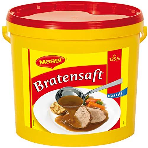 Maggi Bratensaft pastös, schnell löslich, 1er Pack (1 x 12kg Eimer)
