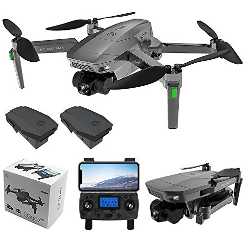 ZLL SG907 MAX 5G WiFi FPV GPS with 4K HD Camera Three-Axis Gimbal Brushless Foldable RC Drone (Include 2 Battery)