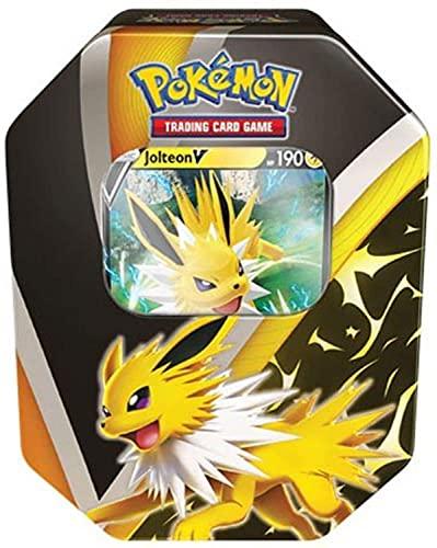 Pokemon TCG: 2021 Fall Eevee Evolutions Jolteon V Tin