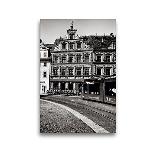 CALVENDO Premium Textil-Leinwand 30 x 45 cm Hoch-Format Haus zum Breiten Herd, Leinwanddruck von Markus W. Lambrecht