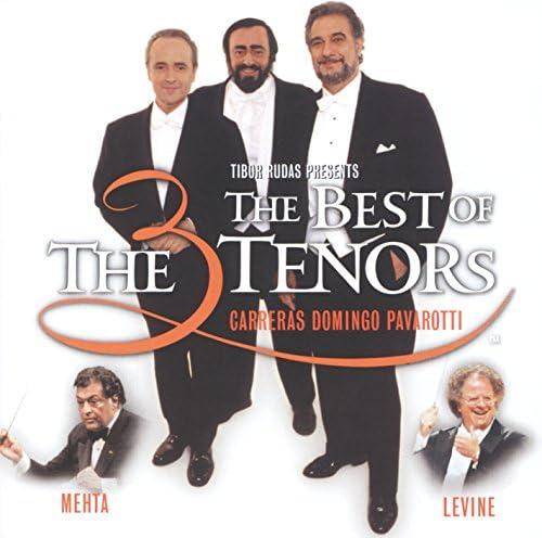 José Carreras, Plácido Domingo, Luciano Pavarotti, James Levine & Zubin Mehta