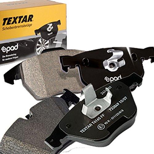 TEXTAR Bremsbelagsatz für Scheibenbremse , epad, 2391481