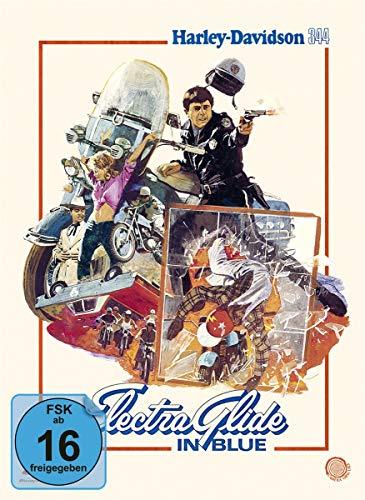 Electra Glide in Blue - Harley Davidson 344 (Limited Edition Mediabook) [Blu-ray]