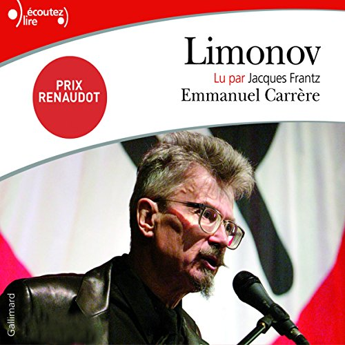 Limonov audiobook cover art