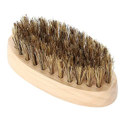 Herramienta de modelado de barba con cepillo de cerdas práctico eficaz para uso doméstico