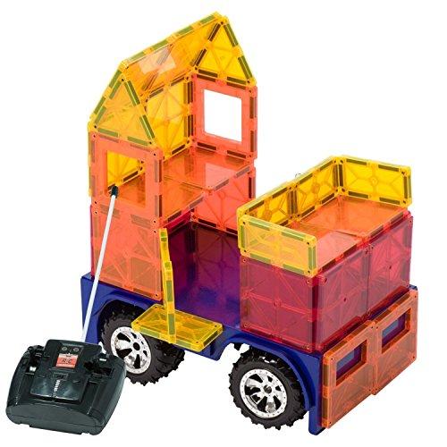 Playmags Coche teledirigido magnético Colores Pueden Variar.