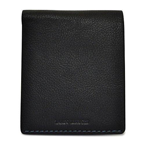 [タケオキクチ] 二つ折り財布 テネーロ メンズ 1709019 【01】ブラック