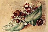 ブリキ メタル プレート サイン 2枚 Beatrix Potter Appley Dappley 童謡 壁絵 メタル ティンサイン 12x8インチ ホーム キッチン 寝室 バーサイン デコレーション ポスター ティンサイン ハロウィン 感謝祭 ギフト