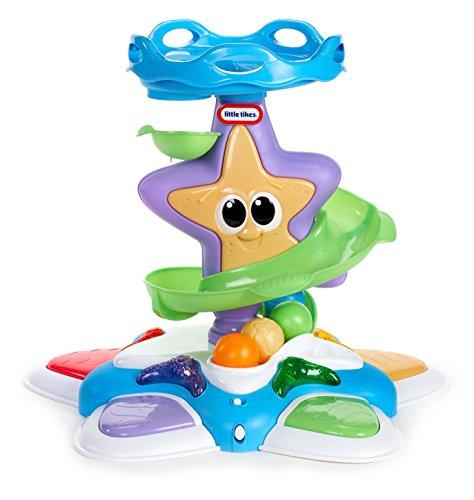 Little Tikes Lil Ocean Explorers Étoile de mer Stand n' Dance – Tour facile à tenir + lumières & sons – Jouet de garçon divertissant – Encourage les jeux imaginatifs – de 9 mois à 3 ans