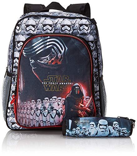 Star Wars VII - Rucksack; schwarz, weiß, rot; 38 cm x 32 cm x 12 cm; 611601640