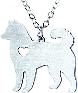 Alaskan Malamute Necklace, Alaskan Malamute Charm, Alaskan Malamute Pendant, Alaskan Malamute Jewelry, Dog Necklace