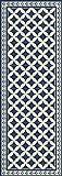 arredo carpet passatoia vinile piazzato venezia 50x180