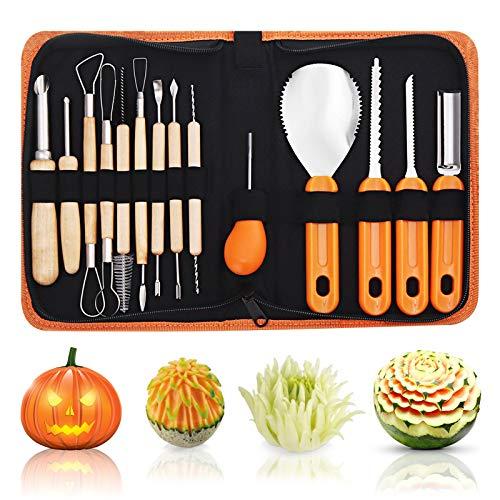 Culinary Carving Tool Kit for Fruit Vegetable, NASUM Pumpkin...